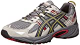 ASICS Men's Gel Venture 5 Running Shoe, Light Grey/Graphite/Red, 11.5 M US
