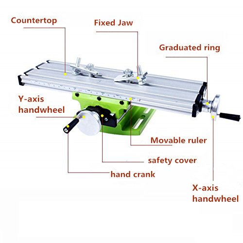 Multifunction Worktable Milling Working Table Milling Machine Compound Drilling Slide Table For Bench Drill by MYSWEETY (Image #2)