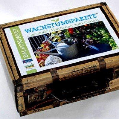 Saatgut Wachstumspaket Balkon / Bild: Amazon.de