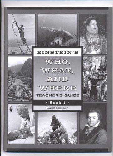 Download Einsteins Who What Where 1 Teacher Grd 4-5 pdf epub