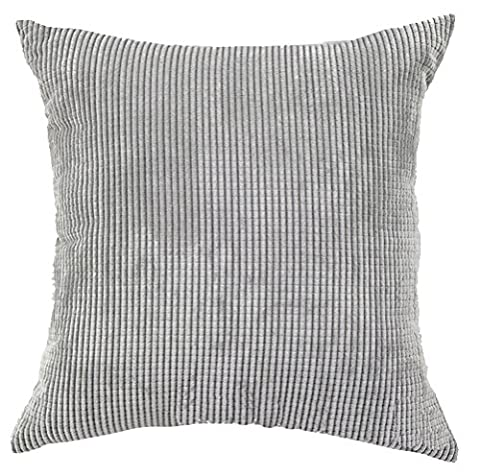 Square/Rectangle Solid Pinkycolor Printed Cushion Cover ChezMax Corduroy Plaid Throw Pillow Case Sham Slipover Pillowslip Pillowcase For Decor Decorative Dinning Room Kitchen