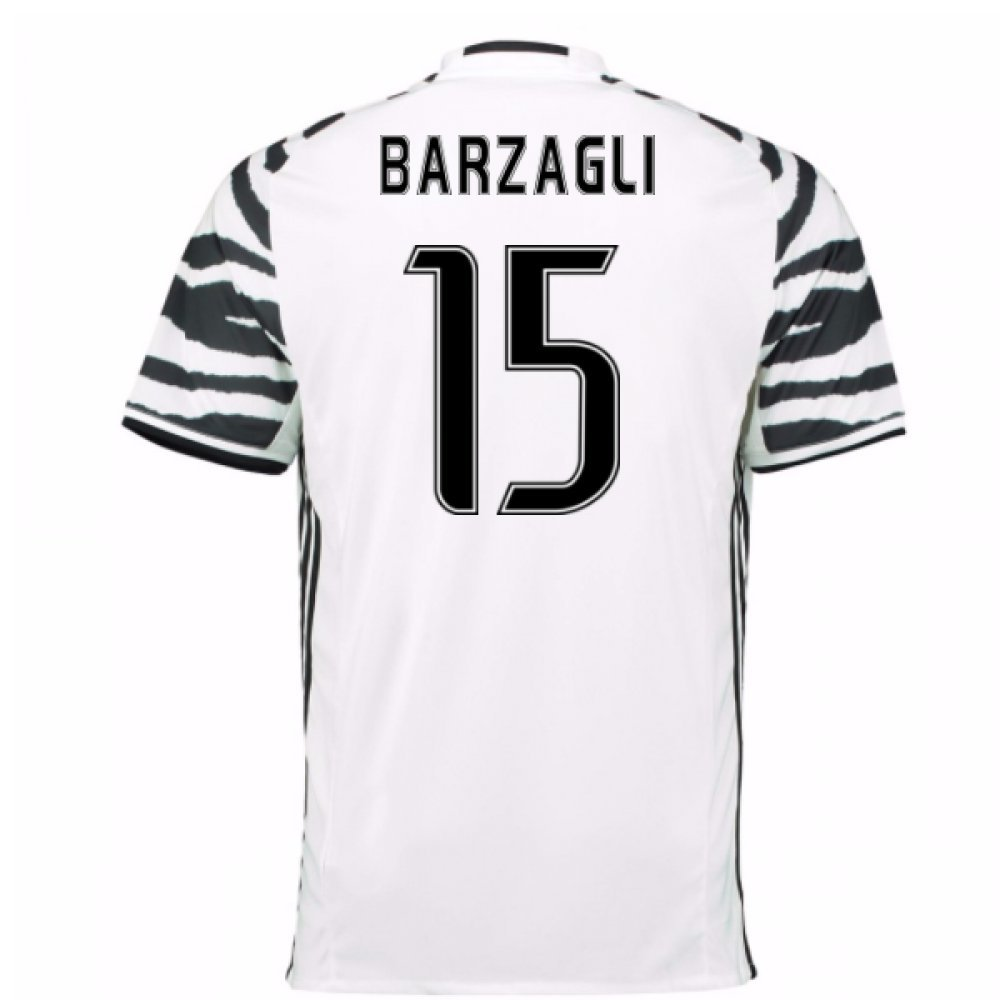 2016-17 Juventus 3rd Football Soccer T-Shirt Trikot (Andrea Barzagli 15)