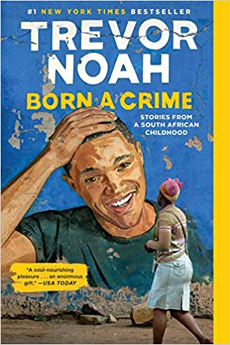 Book Cover for Trevor Noah's Book