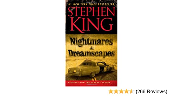 Nightmares Dreamscapes Stephen King 9781439102565 Amazon Books