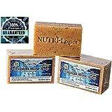 "NUTRI-Logics' BEST -EXTRA STRENGTH- PREMIUM 6 OZ USDA CERTIFIED ORGANIC COLLOIDAL SILVER SOAP ( 1 BAR ) - "" SPRING FRESH "" HONEYSUCKLE LEMON PEEL- ANTIBACTERIAL / ANTIFUNGAL"