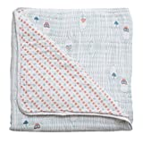 Bebe au Lait Premium Muslin Snuggle Blanket, Little Owl and Tinsley offers