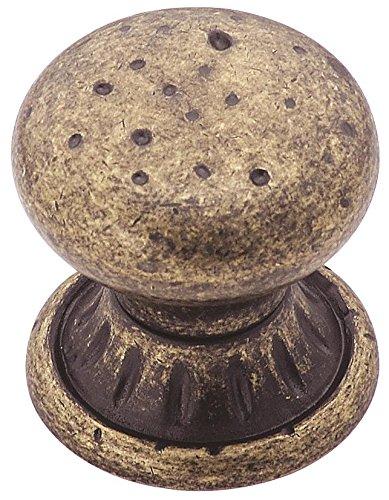 Amerock BP4485-R2 Sundara 1-1/4-Inch Diameter Knob, Weathered Nickel (Weathered Brass Amerock)