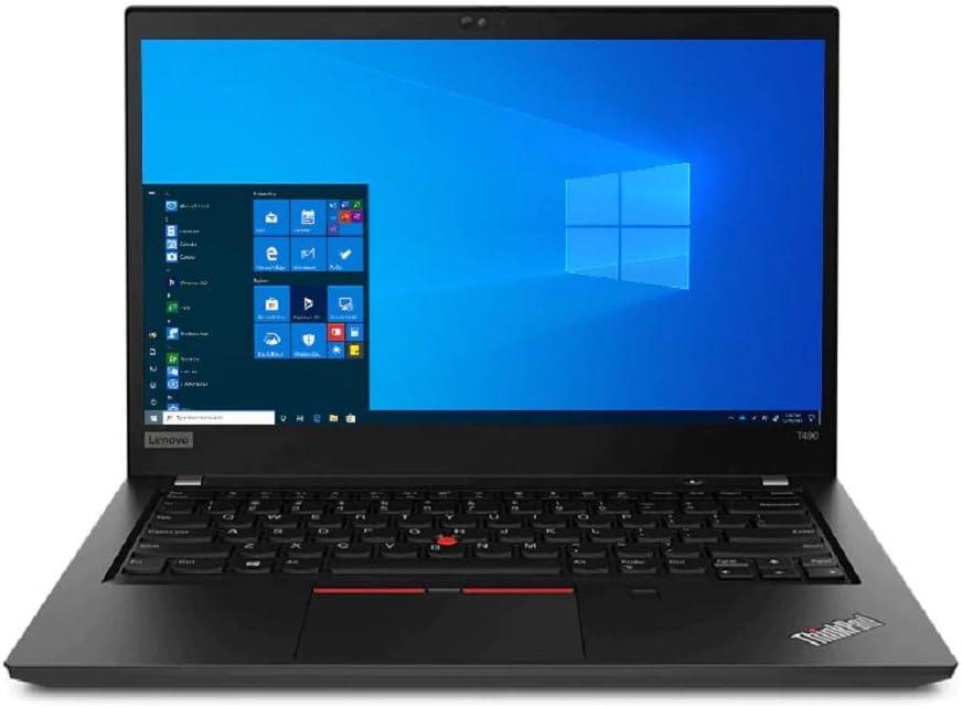 "OEM Lenovo ThinkPad T490 Laptop 14"" FHD Display 1920x1080, Intel Quad Core i7-8565U, 16GB RAM, 256GB NVMe, Fingerprint, W10 Home"