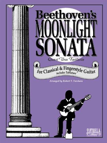 Moonlight Sonata Sheets Music (Moonlight Sonata For Guitar)