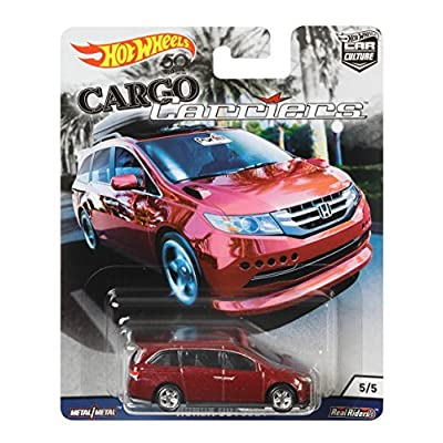 Matchbox HOT Wheels 2020 Release Cargo Carriers CAR Culture Series RED Honda Odyssey Van DIE-CAST: Toys & Games