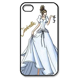 Cinderella Custom Printed Design Durable Case Cover for Iphone 4 4S