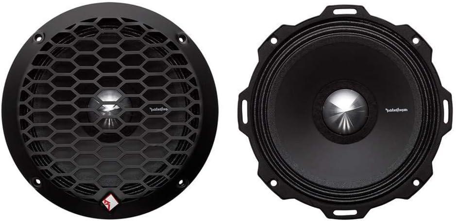 "Rockford Fosgate PPS4-6 6.5"" 400 Watt 4-Ohm Midrange Car Audio Speaker (Pair)"