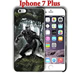 Black Panther for Iphone 7 Plus 5.5in Hard Case Cover (black8)