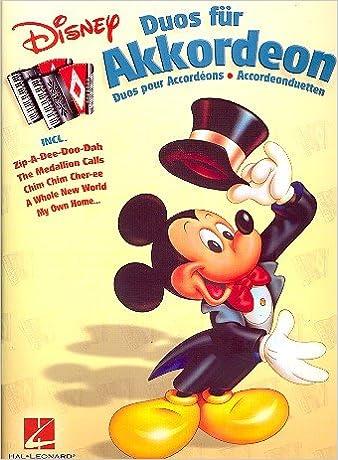 Disney Duos für Akkordeon