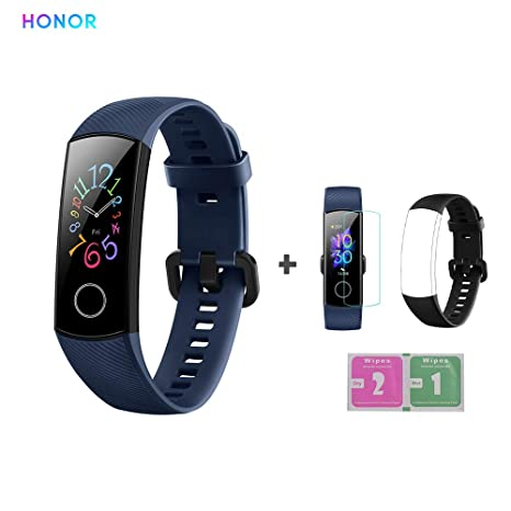 Amazon.com: HONOR Band 5 Fitness Tracker Heart Rate Monitor ...