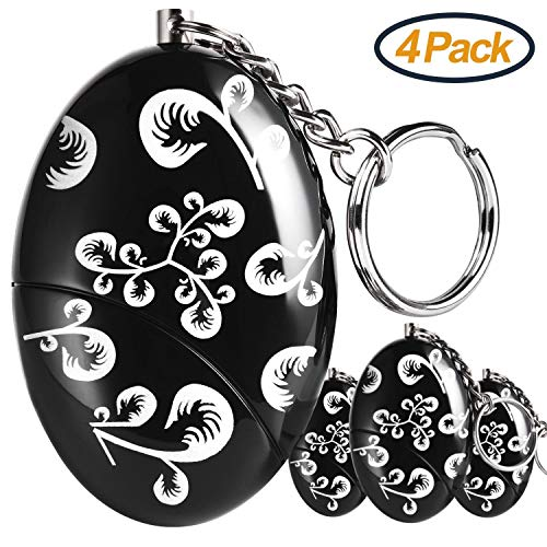 Personal Alarm Keychain, Personal Alarms for Women, Purse Self Defense Keychain Safe Sound 120-130 dB Alarm Device for Women Elderly Kids Night Workers by Foaber