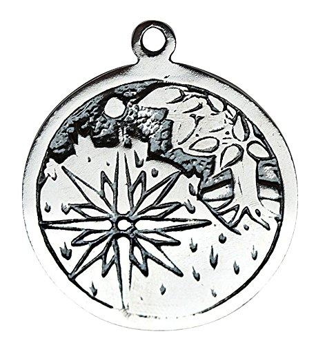 Pendant Light Enchantment 1 - Starlinks Celtic Birth Charm - Sidhe (May 17 - June 8) Charm to invoke Enchantment Talisman Amulet Pendant