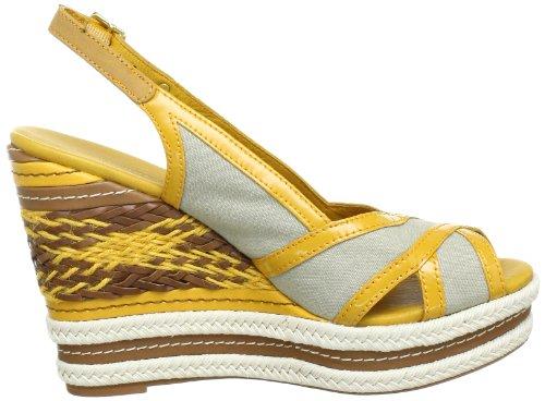 Tommy Hilfiger ESTELLE 8 - Zapatos destalonados de lona mujer beige - Beige (TIDAL FOAM/GOLDEN GLOW 905)