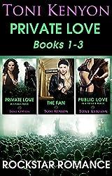 Rockstar Romance: Private Love Books 1-3