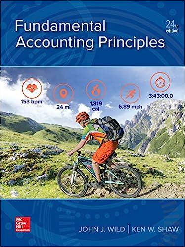 Fundamental Accounting Principles by Wild