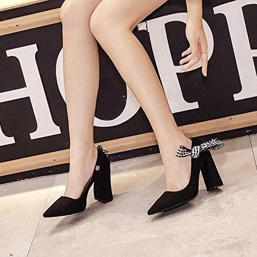 LvYuan-mxx Sandalias de las mujeres / Verano y primavera / Talón grueso / punta puntiaguda boca superficial / Oficina y Carrera / Vestido / Casual / creativo Vestindo una variedad de formas / zapatos  1-38