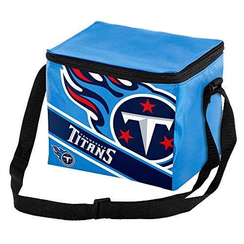 Tennessee Titans Big Logo Stripe 12 Pack Cooler