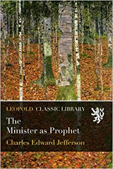 Book The Minister as Prophet