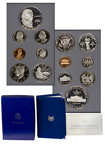 1993 S US Prestige Proof Set 7 Coin set In original packaging from mint ()