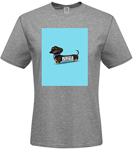 Custom I'm Having A Iong Day Mens T-shrits,DIY MENS Cotton Crew Neck T-Shirt