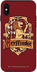 Macmerise Crest Gryffindor Tough Case For Iphone X