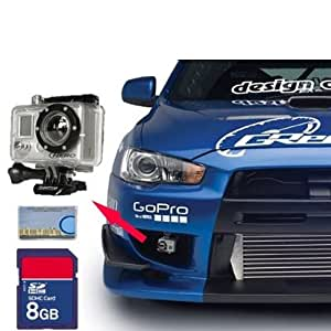 GoPro HD Motorsports HERO On-Board High-Definition Digital Camera for Motorsports + 8GB SD Card