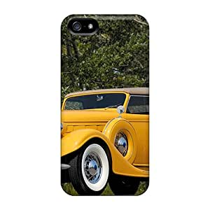Premium IIM11674zuIk Case With Scratch-resistant/ 1935 Lincoln K Convertible Case Cover For Iphone 5/5s
