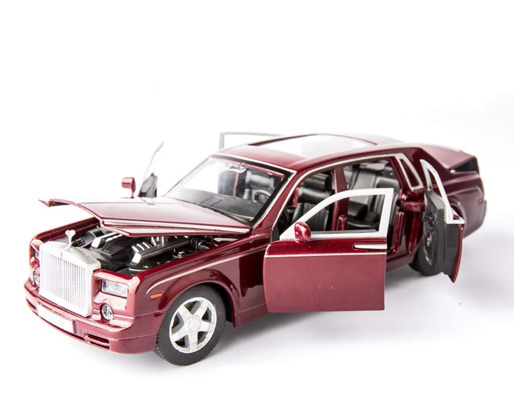 GYZS-TOY Rolls-Royce Car Model Car Boy Six-Door Toy Car Simulazione in Lega Car Model Decoration Collection (colore   Red)
