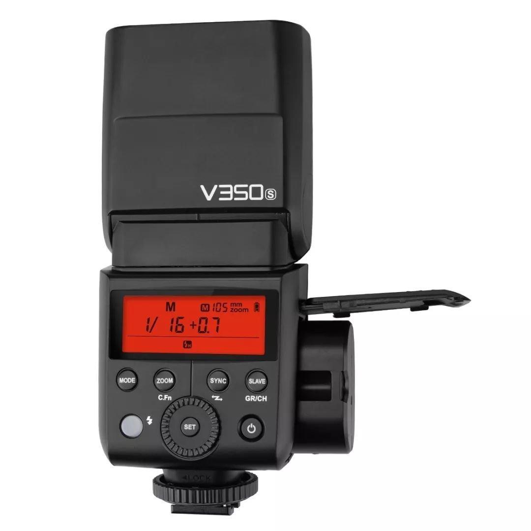 Godox V350シリーズTTL 2.4Gリチウムイオンカメラフラッシュ、キヤノン/ニコン/ソニー/オリンパス/富士フイルム用充電池内蔵 (V350-Sソニー用)   B07B8C3P3T