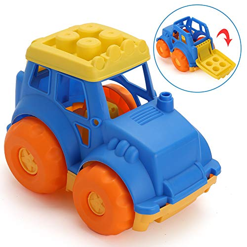 LotFancy Dump Truck Toy for Kids Toddler, Beach