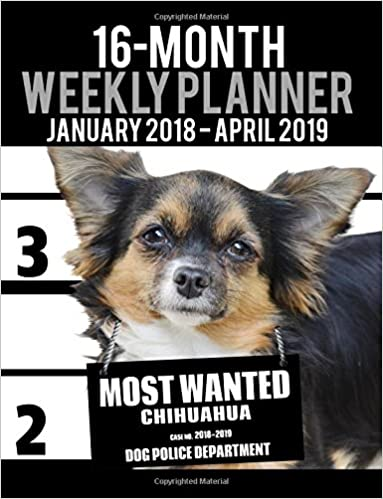 2015 dog weekly planner 16 month engagement calendar diary