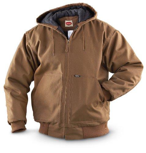 UPC 042565445681, Tuf - Nut by Key Insulated Hooded Jacket, Saddle, 2XL