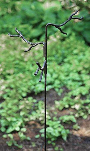 Ancient Graffiti Triple Twig Stake