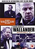 Wallander (Films 21-26) - 3-DVD Set ( Skytten / Dödsängeln / Vålnaden / Arvet / Indrivaren / Vittnet ) ( The Sniper / The Angel of Death / The Gh [ NON-USA FORMAT, PAL, Reg.0 Import - United Kingdom ]