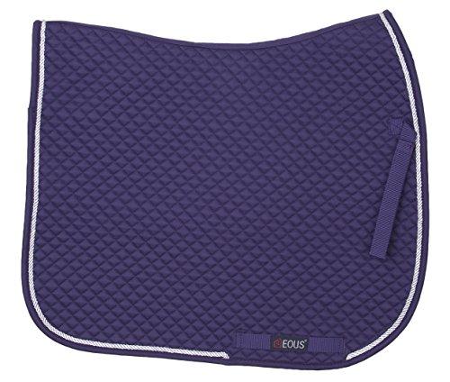 EOUS Diamond Show Pad, Purple/Silver, Dressage