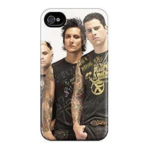 Protector Hard Cell-phone Case For Iphone 4/4s (Muj11544Zdqv) Support Personal Customs HD Avenged Sevenfold Band A7X Series