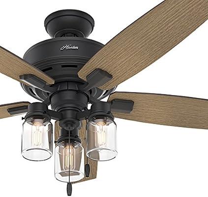 Hunter Fan - Ventilador (52 pulgadas) Ventilador de techo rústico ...