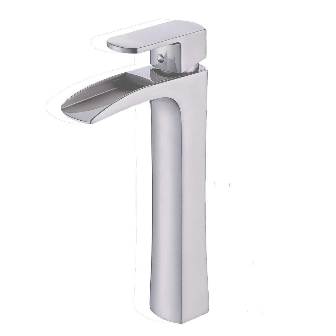 Mono Basin Mixer Tap in Bathroom, Designer Style,Solid Brass, Polish Chrome, Beelee BL8801 Bela