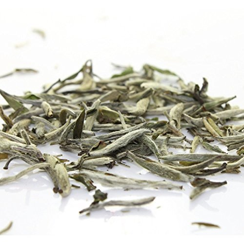 Tealyra - Premium White Silver Needle Tea - Bai Hao Yinzhen - Organically Grown in Fujian China - Superior Chinese White Tea - Loose Leaf Tea - Caffeine Level Low