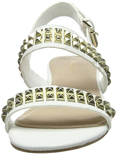 Bright ALDO White arrière Cadaressa Blanc Bride Sandales 70 Femme xrHqYwZr0