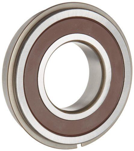 Timken 206PPG Ball Bearing, Double Sealed, With Snap Ring, Metric, 30 mm ID, 62 mm OD, 16 mm Width, Max RPM, 2550 lbs Static Load Capacity, 5000 lbs Dynamic Load Capacity