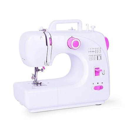 Xuan - worth having Máquina de coser Mini multifunción hogar eléctrico cerradura Edge escritorio 16 tipos
