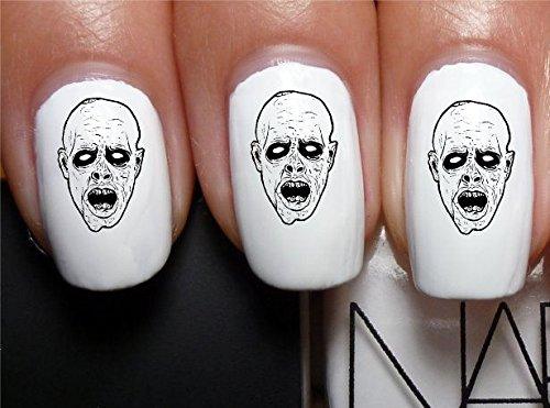 Amazon Sassy Nailz The Walking Dead Zombie Nail Art Transfer