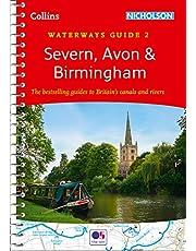 Severn, Avon & Birmingham: Waterways Guide 2 (Collins Nicholson Waterways Guides)