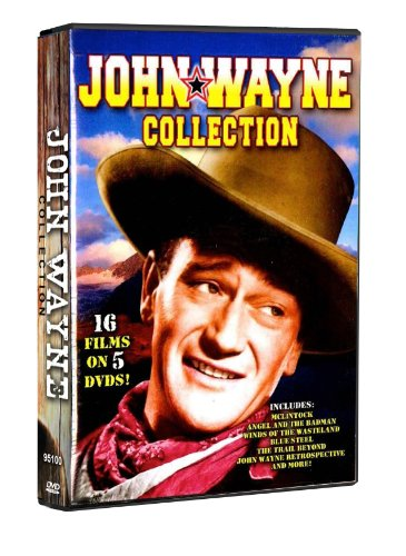 John Wayne Collection: McClintock, Angel and The Badman, Winds of the Wasteland, Blue Steel, The Trail Beyond, John